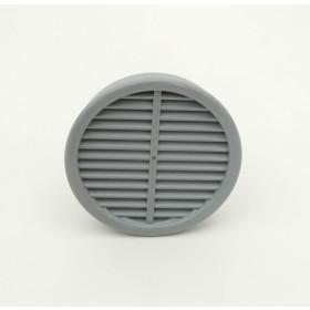 Grille de ventilation diamètre 75mm toilette sèche