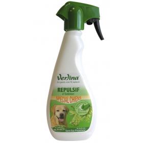 Répulsif chiens extérieur origine végétale en spray 500ml VERLINA