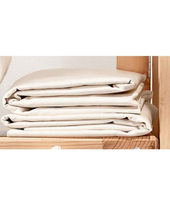 traversin plat coton bio literie coton bio droguerie literie conseils astuces. Black Bedroom Furniture Sets. Home Design Ideas