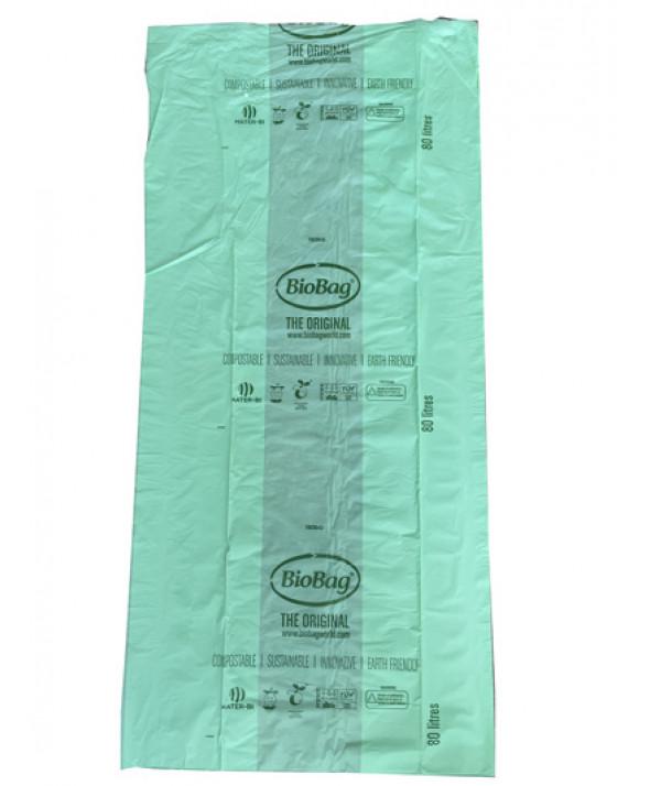 20 sacs compostables 80L toilettes sèches Ø45 cm max