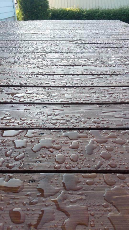 HUILE bois extérieure terrasse, bardage, fenêtre Alis