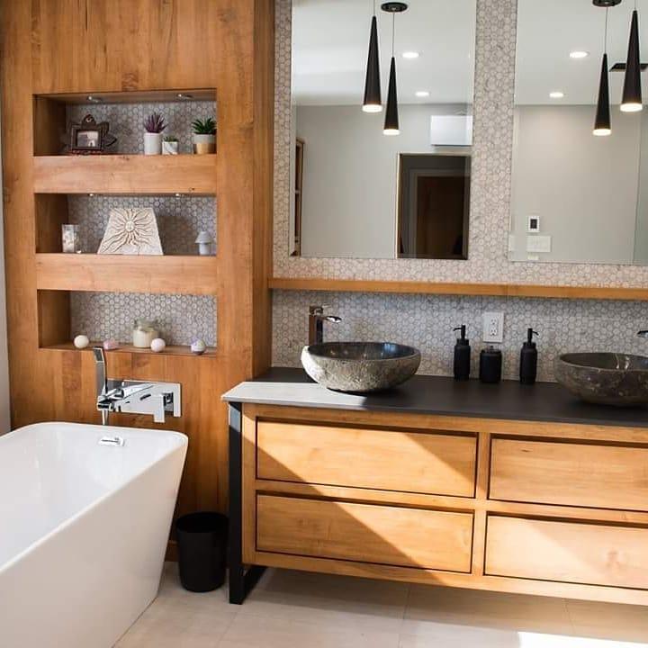 huile bois meuble salle de bain
