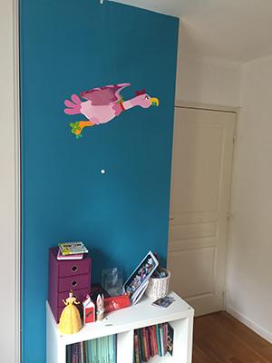 peinture naturelle couleur mur et plafond