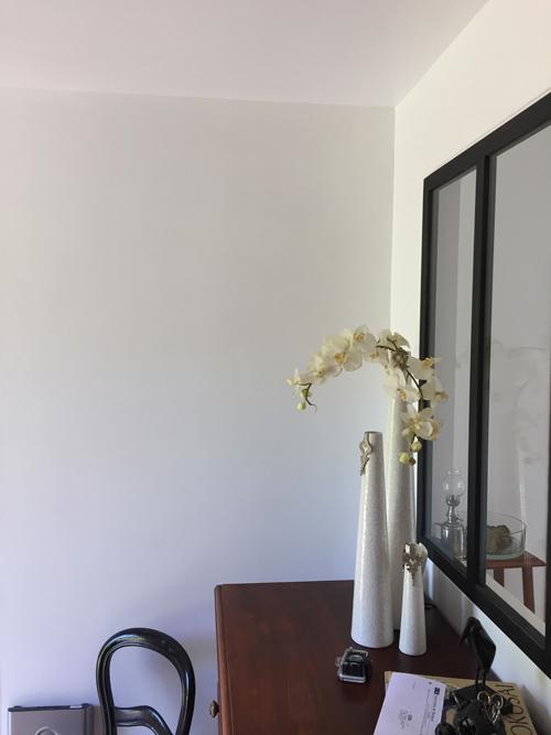Peinture naturelle satinée, blanche, murs et boiseries int/ext lessivable