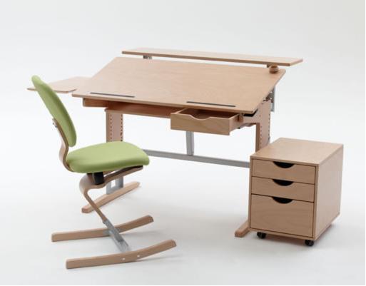Bureau enfant évolutif avec accessoirs MOIZI17
