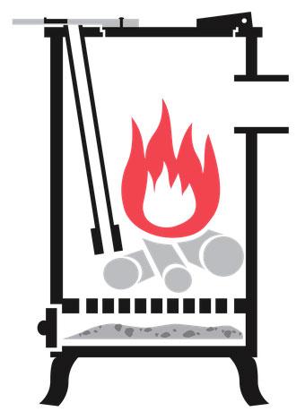 Cuisinière à bois DEOM TURBO, la magie de la cuisson au feu de bois avec la puissance du turbo