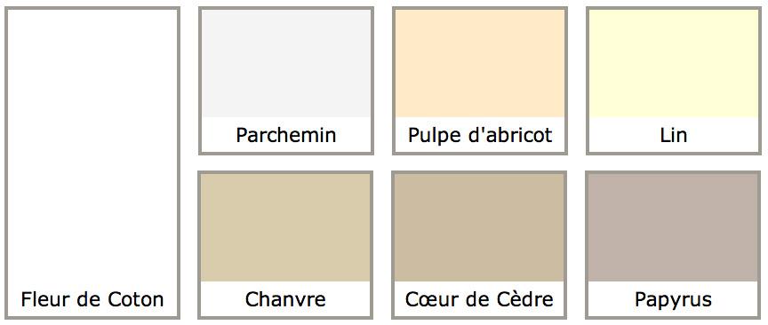 PEINTURE naturelle couleur murale satinée 1L/12m2