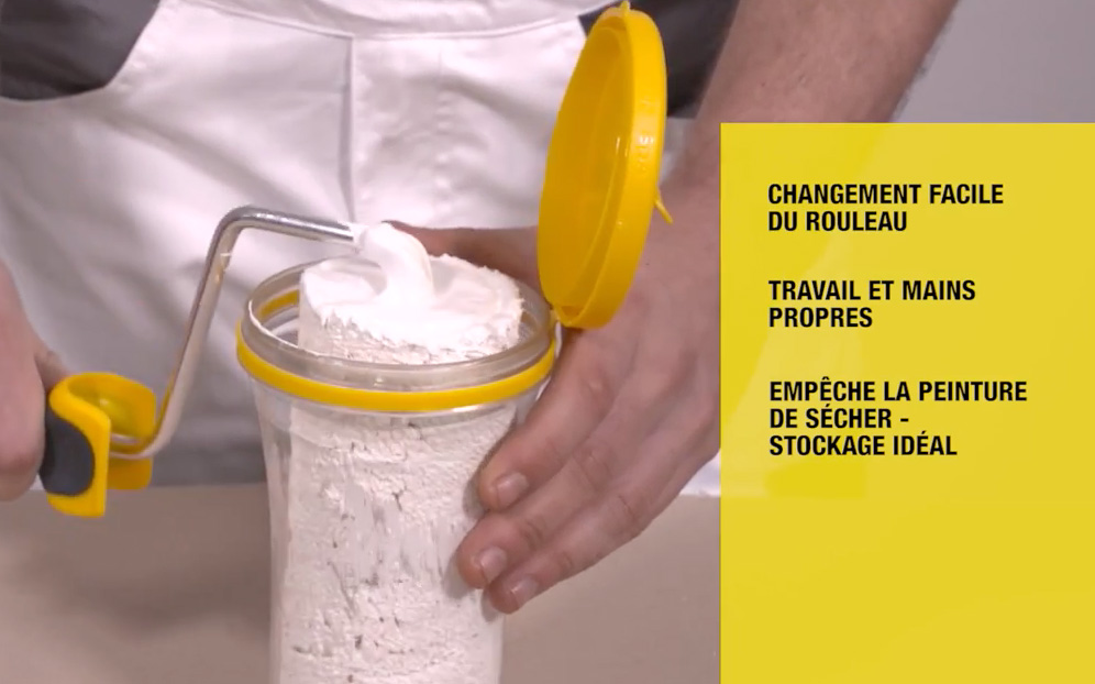 rouleau peinture click and roll avantages