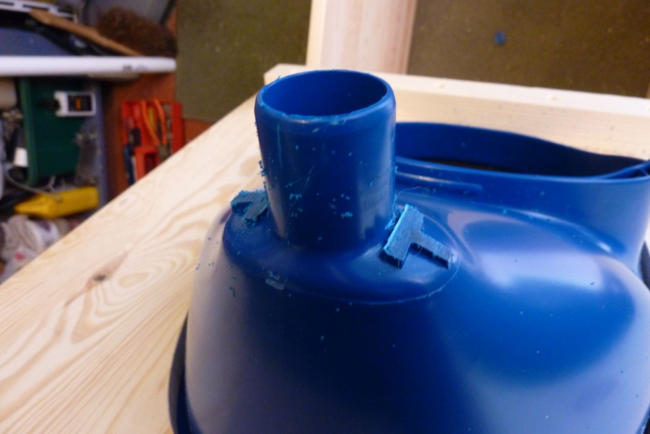 Toilette seche Privy évacuation des urines tuyaux