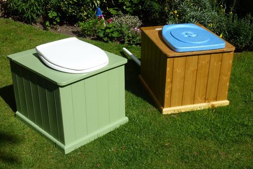 Toilette sèche à séparation Privy Separett