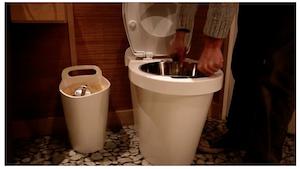 toilette sèche à compost - ziya