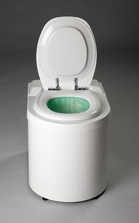 toilette sèche à congelation