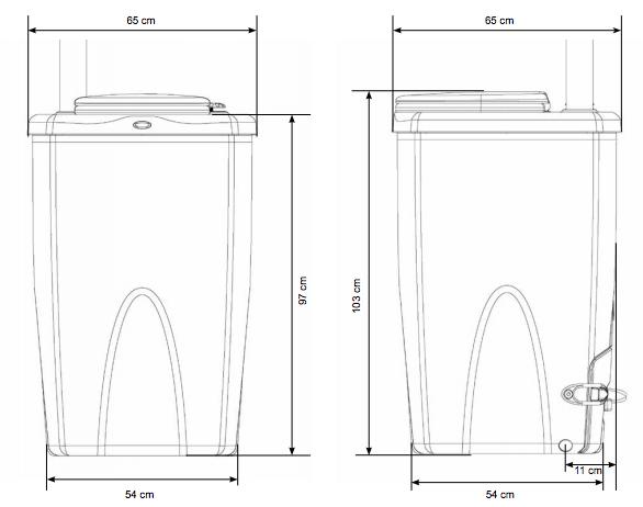 Toilette-seche-biolan-dimensions