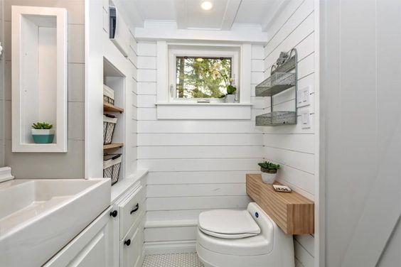 toilette sèche villa 9000 Separett dans tiny house