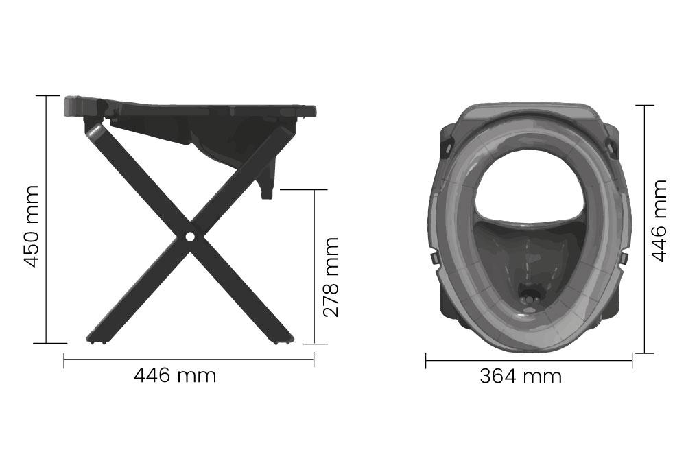 toilette sèche camping Separett