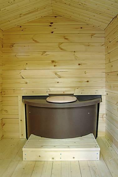 Toilette sèche EKOLET VU à compost sans eau pour habitation, refuge, camping.