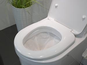 toilette sèche à incinération sacs
