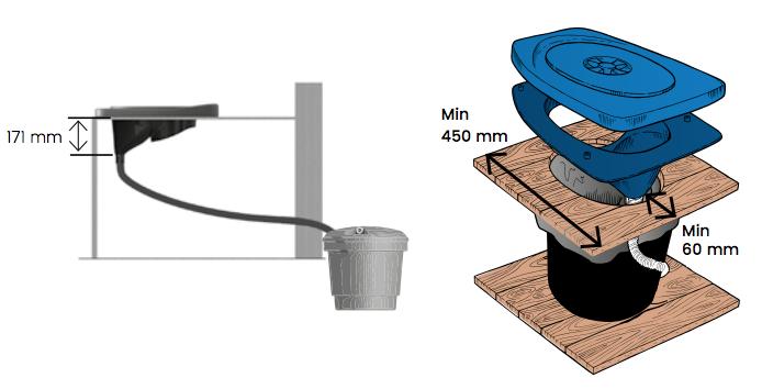 toilette sèche Privy Separett