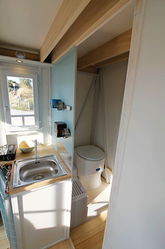 toilette seche dans tiny house